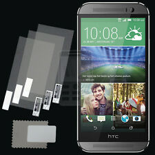 3x CLEAR PET Screen Protector for HTC One M8 / M8 eye / M8s / All New HTC One