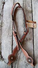 Headstall - Show Harness with Antique Rowel by Schutz Brothers