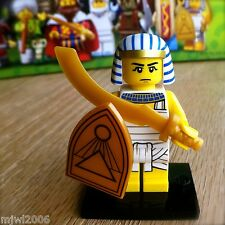 LEGO 71008 Minifigures EGYPTIAN WARRIOR #8 Series 13 SEALED Minifigs Shield Gold
