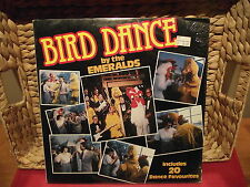 EMERALDS, THE   BIRD DANCE !!!   MINT FACTORY SEALED   1982 Vinyl LP KTEL NC 547