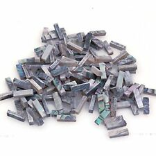 60PCS Abalone Binding Inlay Strips for Guitar Mandolin Maker Size: 7 x 2 x 1(mm)