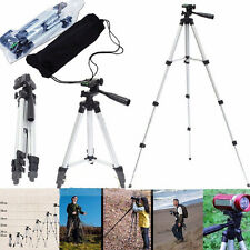 Portable Video Digital Camera Camcorder Tripod Stand for Nikon Canon Sony w/ Bag