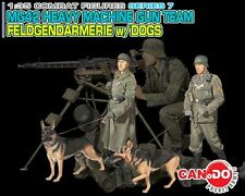 Dragon Can.Do 1/35 Scale WWII German MG42 Heavy Machine Gun Team Set of 4 20033