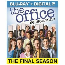 The Office: Season Nine (Blu-ray Disc, 2013, 4-Disc Set, Includes Digital) NEW
