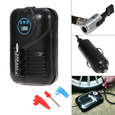 12V 10A Portable Digital DC Electric Air Compressor 250PSI Car Tyre Pump Kit
