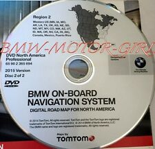 BMW 1 3 5 6 Series X5 X6 Professional Navigation DVD # 694 WEST Map Edition 2015