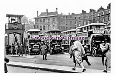 pu0302 - Busy Victoria Bus Station , London - photograph