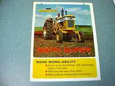Minneapolis Moline M670 Super Tractor Color Brochure from 1967