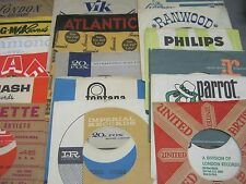 80 COMPANY SLEEVES FOR 50s & 60s 45 RPM RECORDS - ROCK & ROLL DOO WOP R&B OLDIES