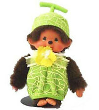Sekiguchi Monchhichi Fruit Costume Melon Plush Doll Official Licensed