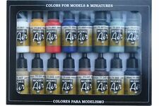 VALLEJO 71.178 Set 16 Colors Basic Colors 16x17ml