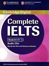 Cambridge English COMPLETE IELTS Bands 6.5-7.5 CLASS AUDIO CDs I Brook-Hart @New
