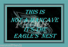 Philadelphia Eagles Nest Man Cave Sign Poster NFL Football
