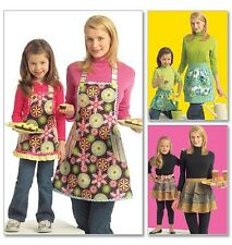 McCall's 5720 Sewing Pattern to MAKE Funky Children & Adult Half & Full Aprons