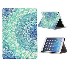 Hot Vente Motif Floral Support Rabattable étui en cuir pour iPad Mini 1 2 3