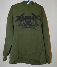GAP Dragon Crest Green Sweatshirt W/Hood (Size:8) EUC