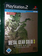 Metal Gear Solid 3 - Snake Eater (Sony PlayStation 2, 2005, Steelbook)