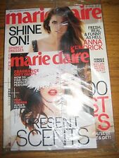 BRAND NEW IN PLASTIC NO ADDRESS - ANNA KENDRICK MARIE CLAIRE US DECEMBER 12 2014