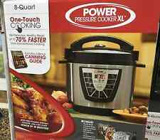 *NEW IN BOX* Power Pressure Cooker XL 8-Quart - AS SEEN ON TV!