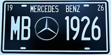 MERCEDES BENZ METAL TIN SIGNS vintage cafe pub bar garage decor
