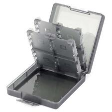 Durable 16in1 Gaming Cards Cases Cartridge Box for Nintendo 3DS DSI XL Black LN