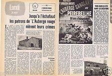 Coupure de presse Clipping 1979 Le Film  l'Auberge Rouge Fernandel  (3 pages)
