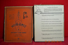 Antique 1931 Mental Whoopee Party Game Puzzle Book  Jerome S. Meyer