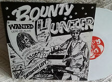 BOUNTY HUNTER LP WHITE VINYL COLORED  DISQUE COULEUR REGGAE RASTA