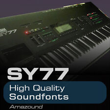 YAMAHA SY77 SOUNDFONT COLLECTION 128 .sf2 FILES AMAZING QUALITY SAMPLES