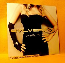 Cardsleeve single CD Sylver Make It 5TR 2005 Regi Milk inc. BYTE Trance House