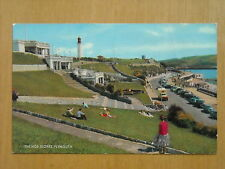 OLD POSTCARD OF THE HOE SLOPES,PLYMOUTH