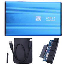 "SATA 2.5"" USB 3.0 HDD Hard Drive External Enclosure Disk Case Box for Laptop PC"
