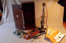 SCLEROSCOPE, HARDNESS TESTER, VINTAGE, c/w DIAMOND INDENTERS & OTHER ACCESSORIE