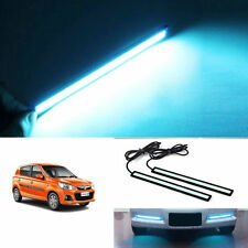Car Waterproof ICE Blue Cob LED Fog DRL Daytime Light 6000K MARUTI ALTO K10