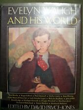 Evelyn Waugh and His World by David Pryce-Jones (1973, Book, Illustrated, HC/DJ)
