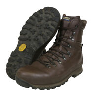 BRITISH ARMY ALTBERG BROWN BOOTS - GRADE 1  - VARIOUS SIZES - CADET - GENUINE