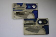 2 A Pair OF Tool Logic Ice Companion Japan & TAIWAN The Credit Card Multi-Tool
