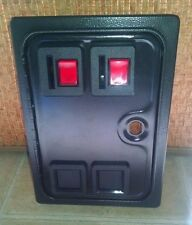 Arcade coin door, new w/ dual coin mech & lock