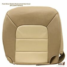 2003 04 2005 Ford Expedition Eddie Bauer Driver Bottom Leather Seat Cover Tan