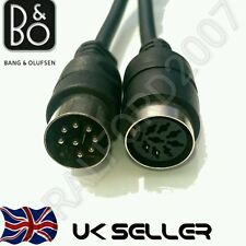 MALE - FEMALE SPEAKER CABLE 4 Bang & Olufsen B&O BeoLab POWERLINK 8 pin DIN MK2