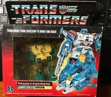 1984 Trans Formers Jumpstarter Topspin in package Transformers
