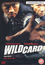 DVD:WILD CARD - NEW Region 2 UK