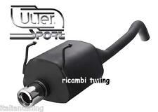 FIAT Nuova 500 1.2 1.3 1.4 Scarico Sportivo Omologato Marmitta uscita diam 80 mm