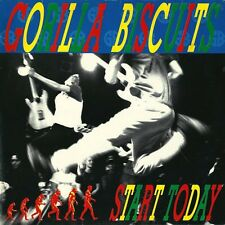 GORILLA BISCUITS START TODAY CD 1989 REVELATION HARDCORE PUNK ROCK CIVARELLI