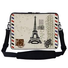 """15.6"""" Laptop Computer Sleeve Case Bag w Handle & Shoulder Strap 2907"""