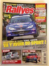 RALLYES MAGAZINE N°150 JUILLET 2005 LOEB RALLYE YPRES BELGIQUE RALLY ALSACE WRC
