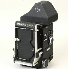 Mamiya C330 Pro camera body Eye-level finder - Nice Ex++!
