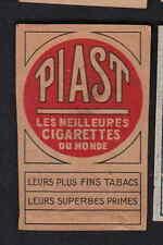 Ancienne  étiquette allumettes Belgique   BN8363 Piast Tabac