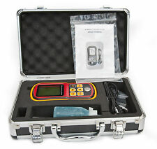 ULTRASONIC THICKNESS GAUGE 0.1MM METER TESTER WALL PIPE TANK 12 MONTHS WARRANTY