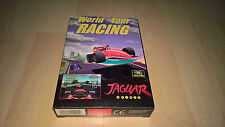 World Tour Racing-OVP-Atari Jaguar-da Collezione Condizioni-NEAR MINT-Jaguar CD